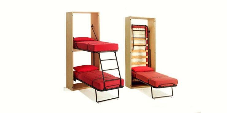 Increibles Literas Que Te Ahorrarian Muchas Peleas Con Tu Hermana Muebles Para Apartamentos Pequenos Literas Y Diseno De Interiores