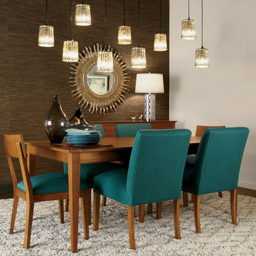 Teal Dining Room: Teal Appeal Dining Room