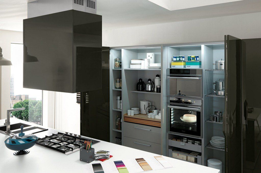 Cucina: che moduli scelgo per la dispensa | Dispensa cucina ...