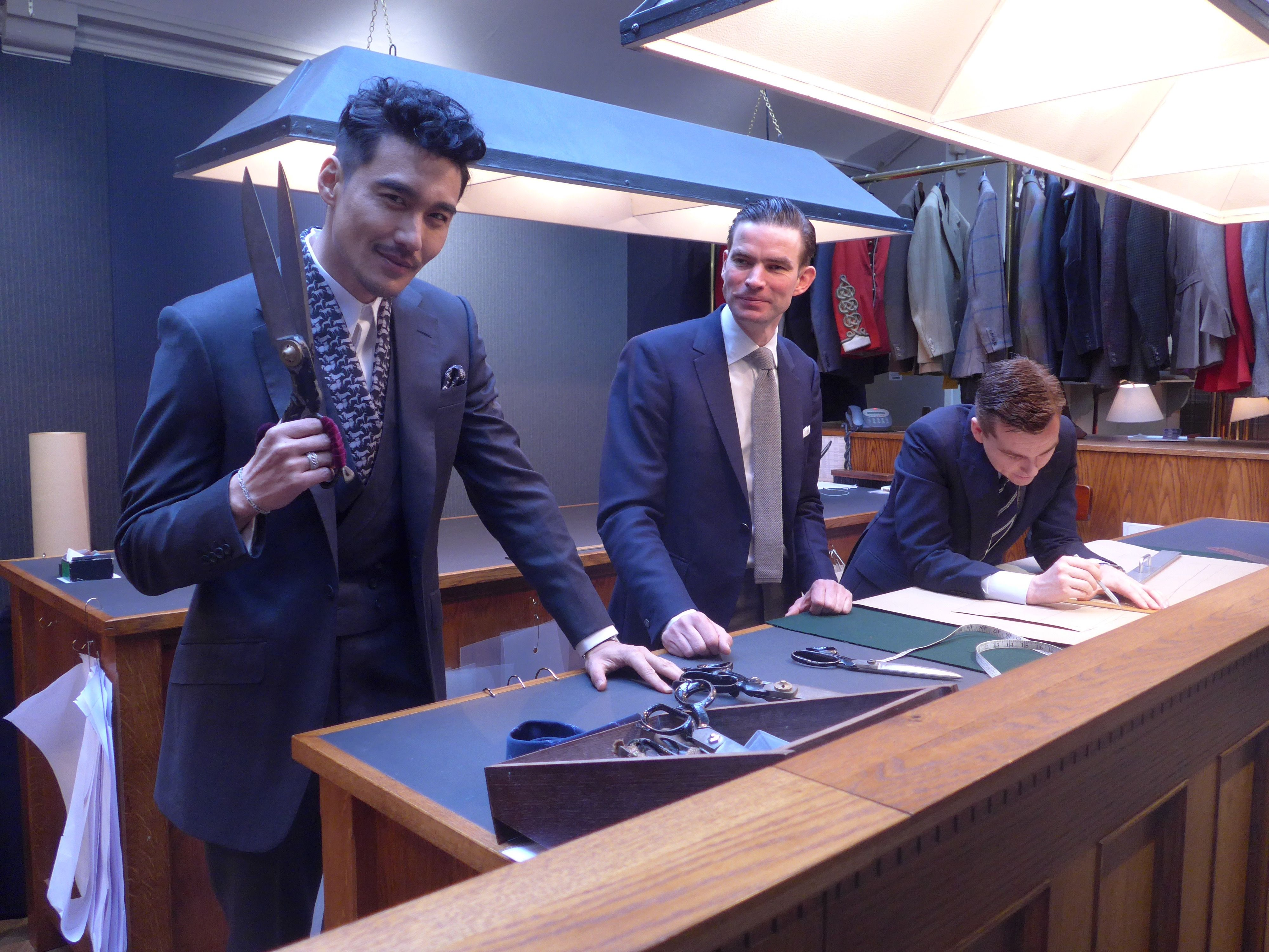 Hu Bing in in Huntsman | Fashionworldstuff-Online Fashion ...