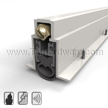 Automatic Door Bottom Mortised Heavy Duty Double Neoprene Seal 1 Drop Automatic Door Sound Proofing Sound Control