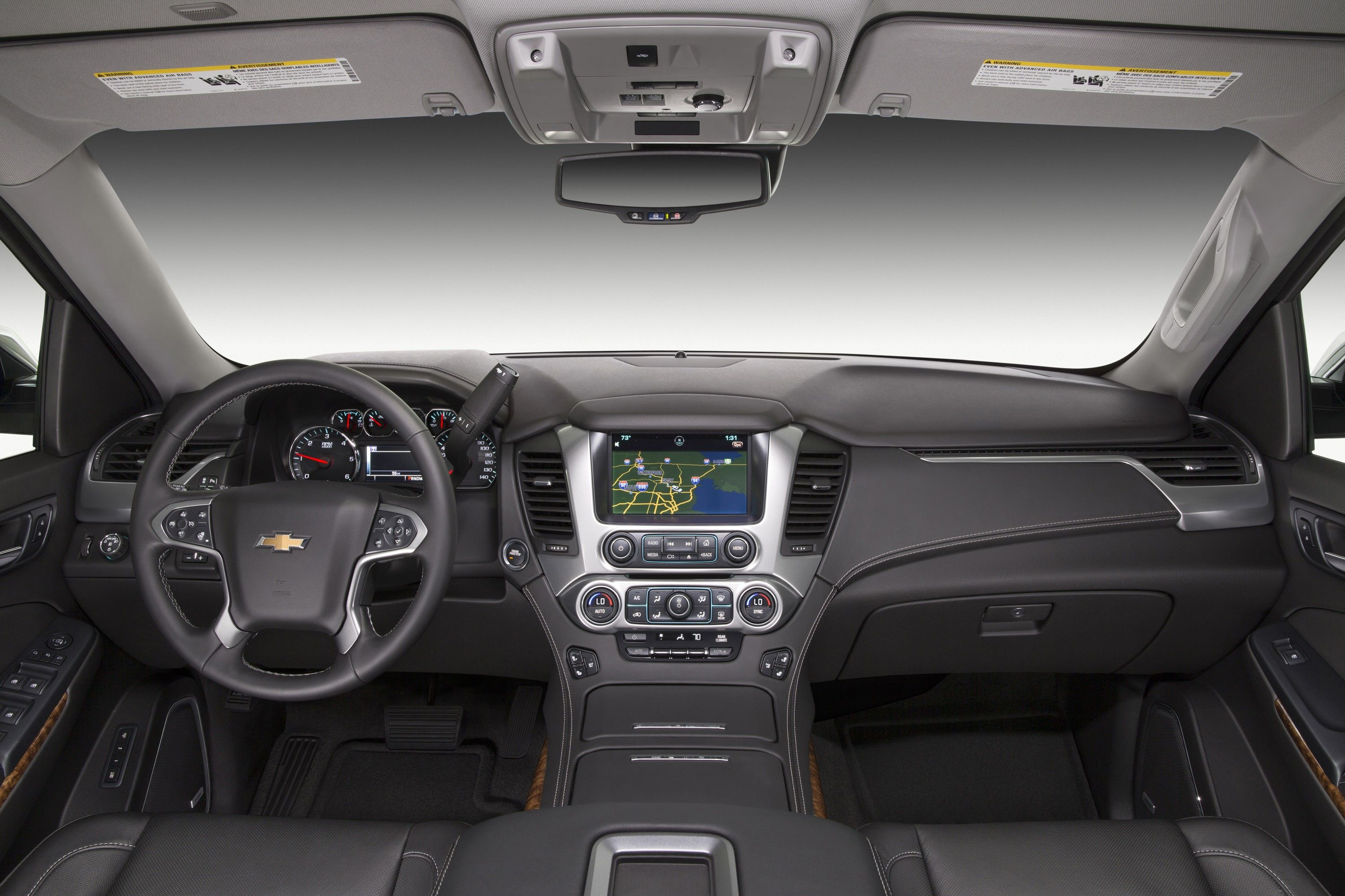 2016 Chevrolet Tahoe Updates Detailed Hud And Intellibeam
