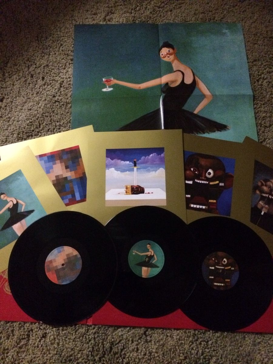 Sofakingawesome23 Beautiful Dark Twisted Fantasy Dark And Twisted Vinyl Music