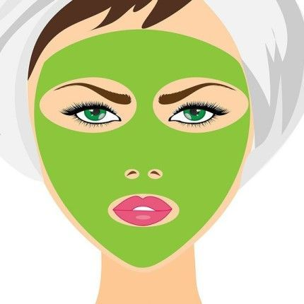 Photo of Natural mask for facial skin care in summer …