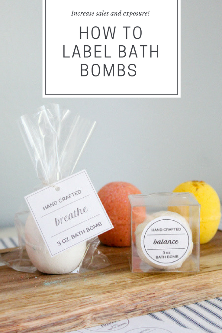 How to Label Bath Bombs to Gain Exposure and Sales is part of Bath bomb packaging, Bath products packaging, Homemade bath bombs, Bath bombs, Bath boms, Homemade bath products - Break into the bath bomb market or stepup your product packaging with these product labeling tips  Use them to increase sales and brand exposure