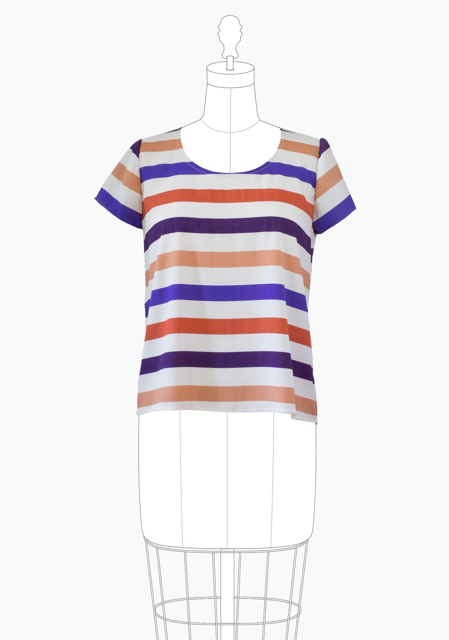 Scout Tee | Sewing inspiration | Pinterest | Patrones y Costura