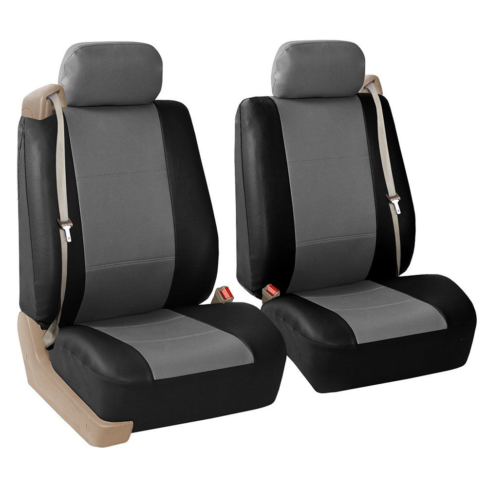 Fia OE37-35 CHARC Custom Fit Front Seat Cover Split Seat 40//20//40 Charcoal Tweed,