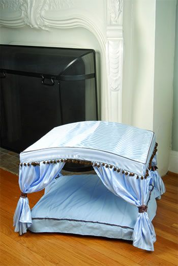 Canopy Bed Blue