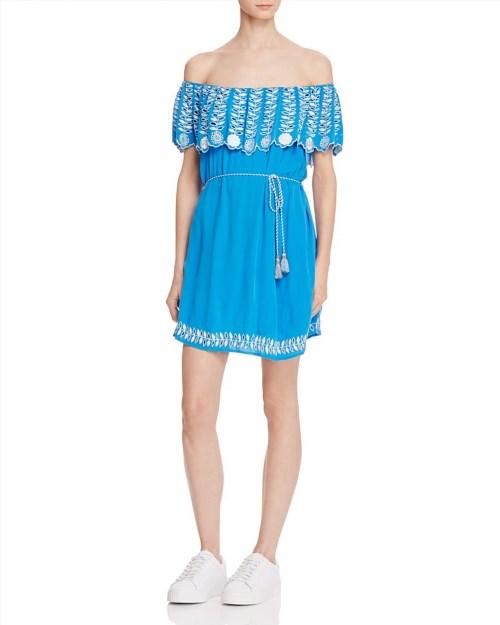 120.00$  Buy here - http://vihxg.justgood.pw/vig/item.php?t=s1vanq50402 - RahiCali Daisy Off-The-Shoulder Dress 120.00$