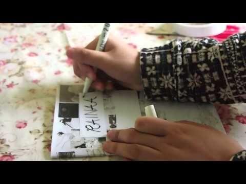 Diy Anime Notebook Covers Rainaa Notebook Covers Diy Anime