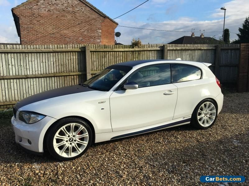 Bmw 120i M Sport Petrol White Rare Modified 1 Series Bmw