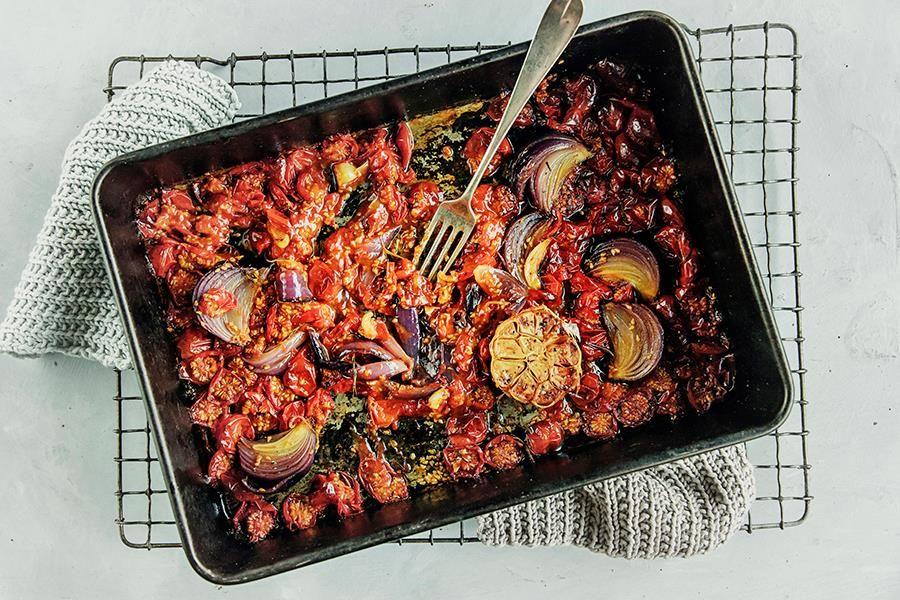 Verdens Beste Pasta Med Tomatsaus Tomatsaus Hjemmelaget