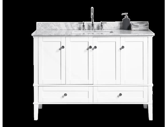 """Ensemble meuble lavabo 48"""" avec dessus de marbre Meubles lavabos"""