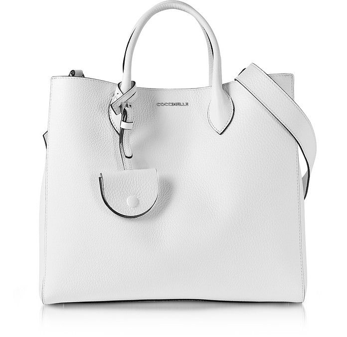 Coccinelle Jamila Pebbled Leather Tote   Bags  Purses Wallets ... a96291cd39