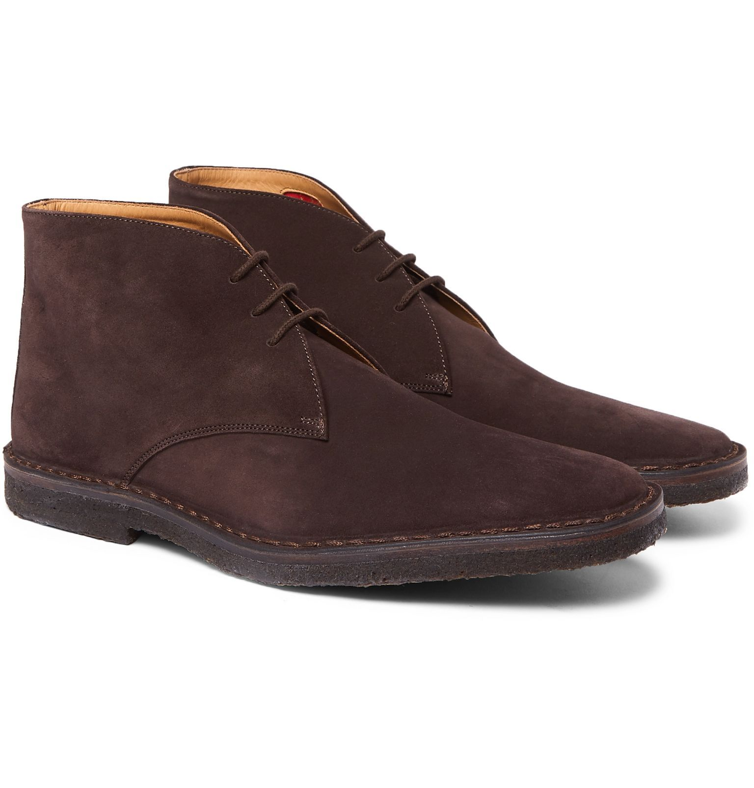 Photo of Brown Suede Desert Boots   Connolly