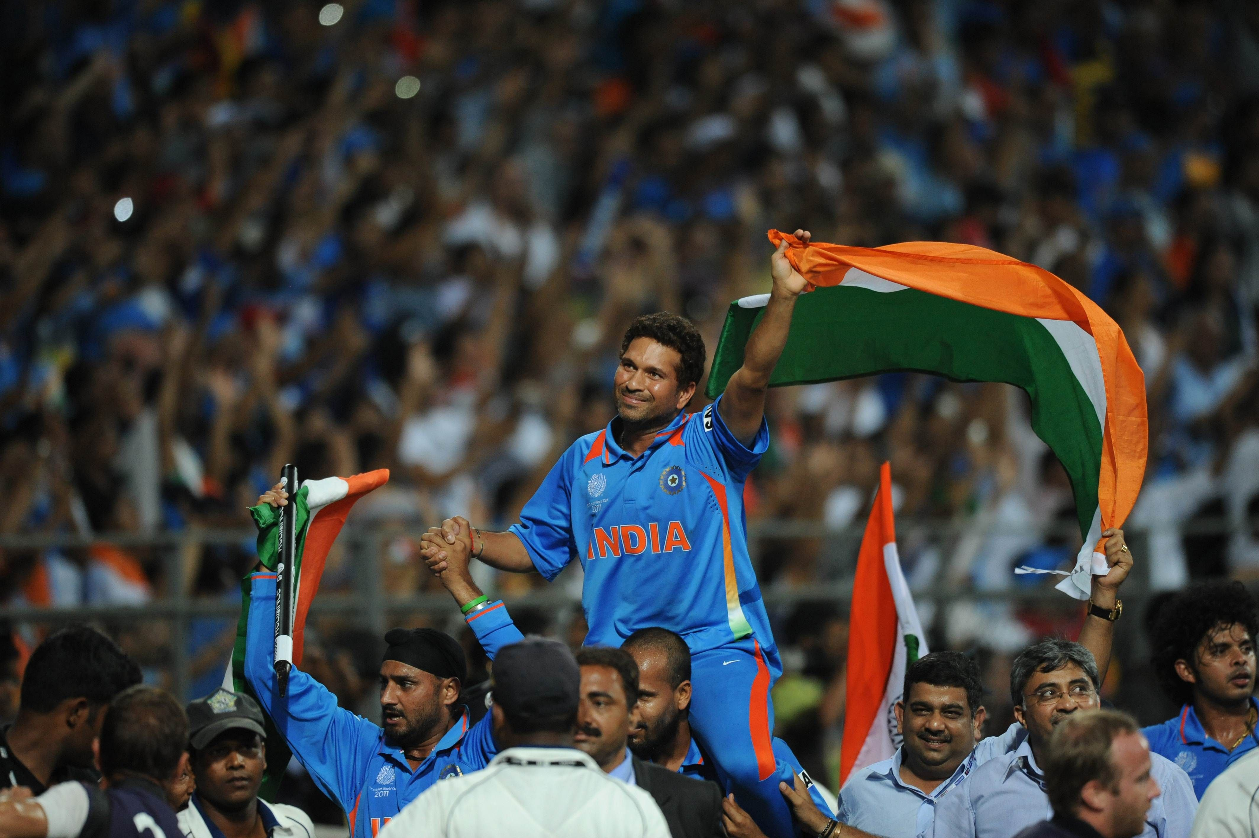 Sachin...India wins Cricket World Cup 2011 (With images
