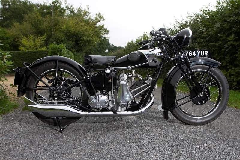1930 Ariel Sloper 500cc 4 Valve Classic Motorcycles Motorcycle Classic