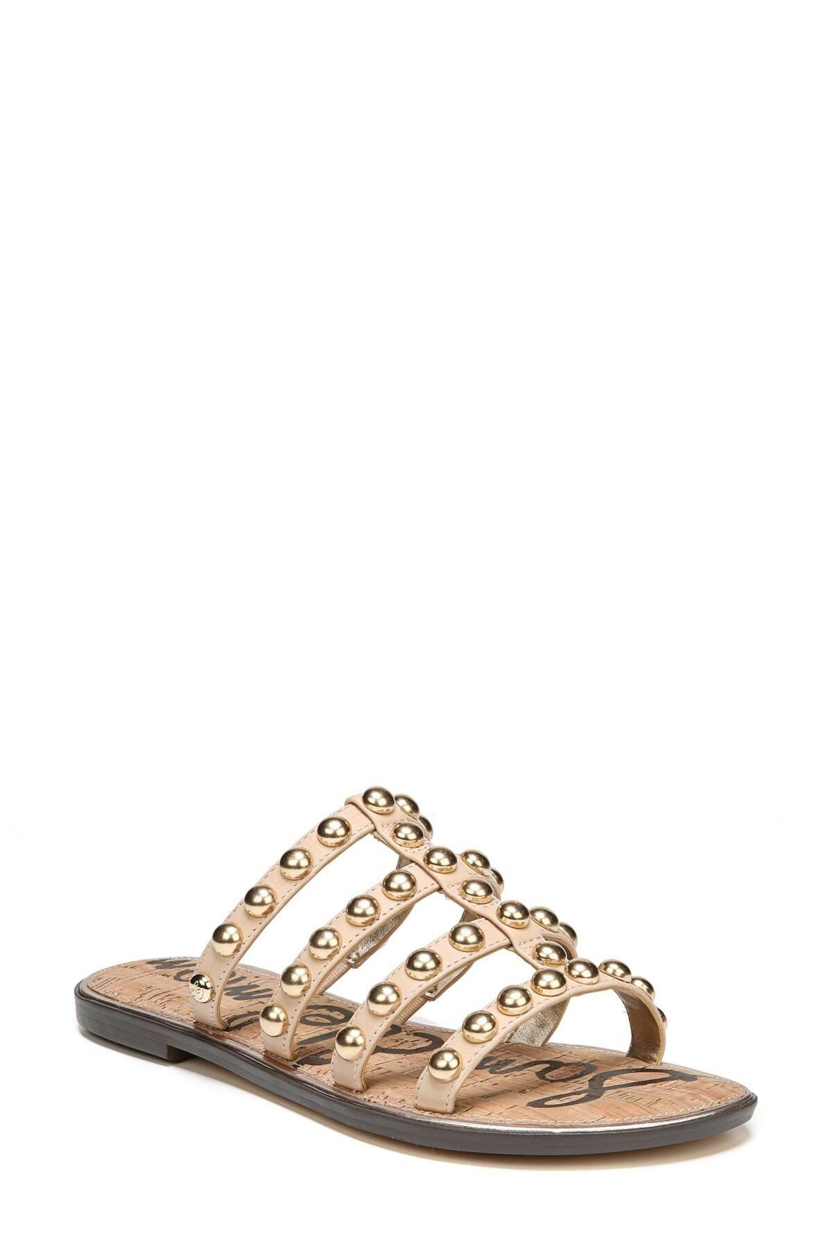 Sam Edelman | Glenn Studded Slide Sandal | Slide sandals