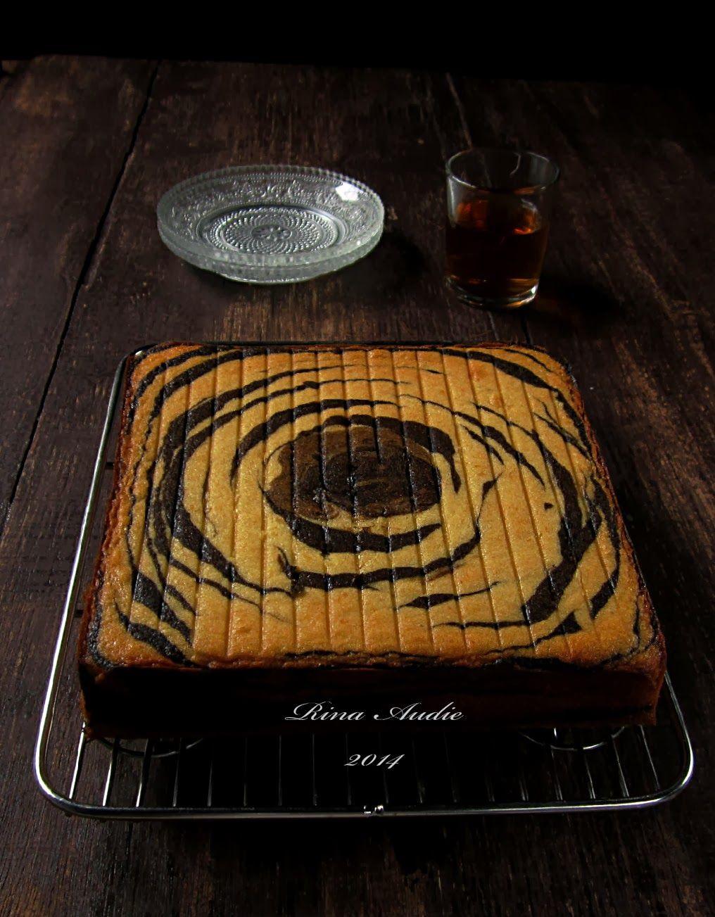 D A P U R M A N I S Cake Zebra Tape Keju Kue Zebra Makanan Manis Kue Lezat
