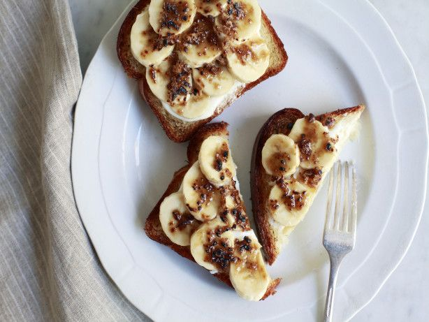 Banana Toast Brulee Recipe Food Com Recipe Breakfast Toast Breakfast Recipes Sweet Banana Toast