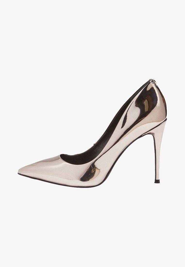 Guess Decolleté grey Zalando.it | Tacchi, Kitten heels e