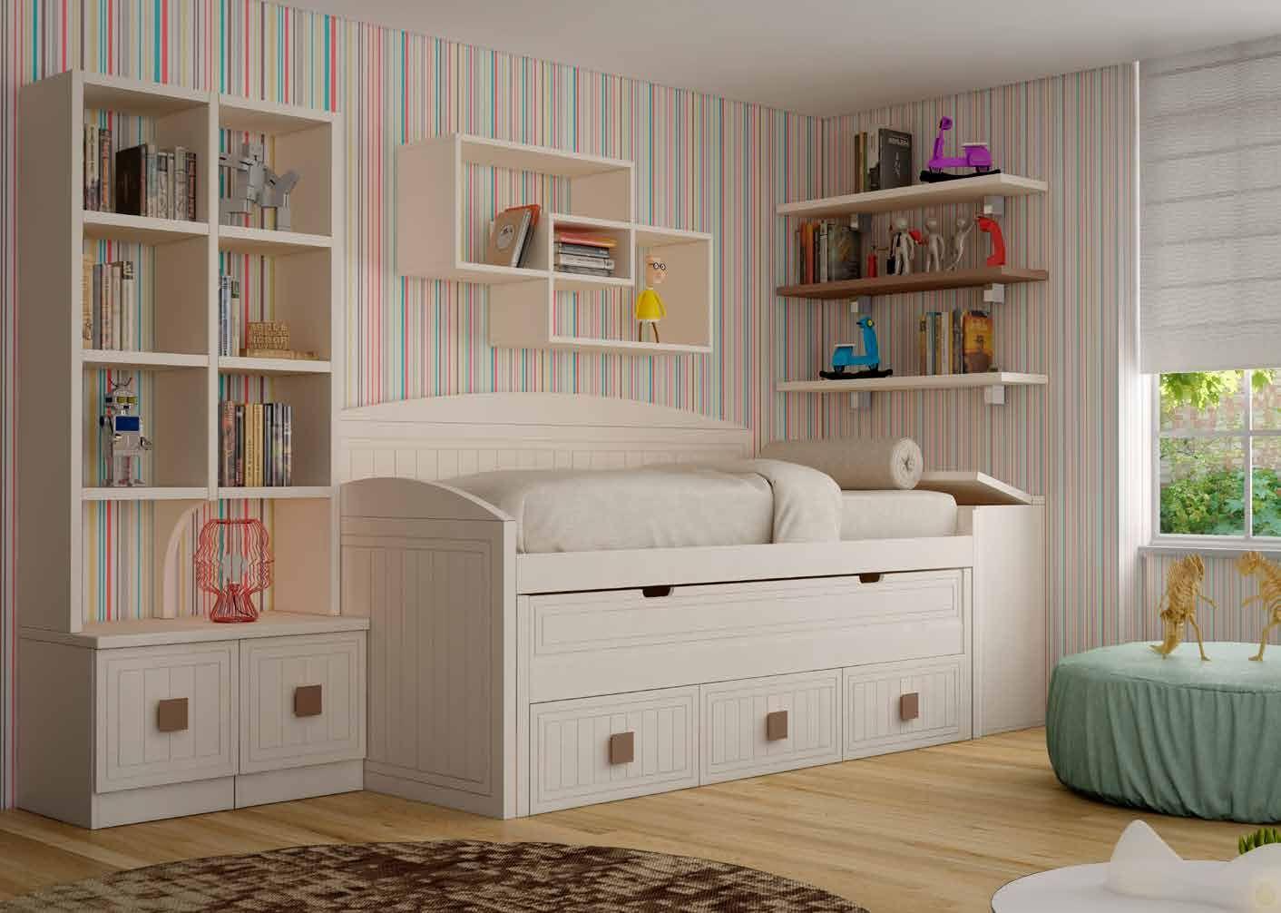 Dormitorio juvenil boreal 6 dlp mobiliario en 2019 - Muebles dormitorio juvenil ...