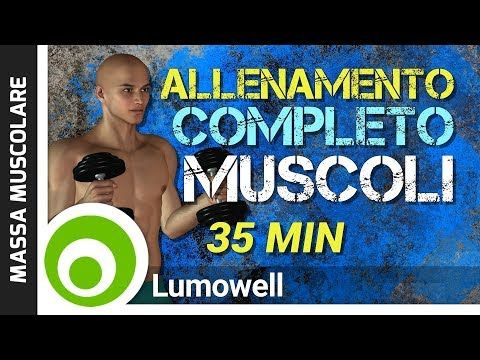 aumenta la massa muscolare e brucia il grasso addominale
