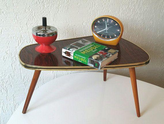 des années soixante originales en forme de rein table basse ## #SALE ...