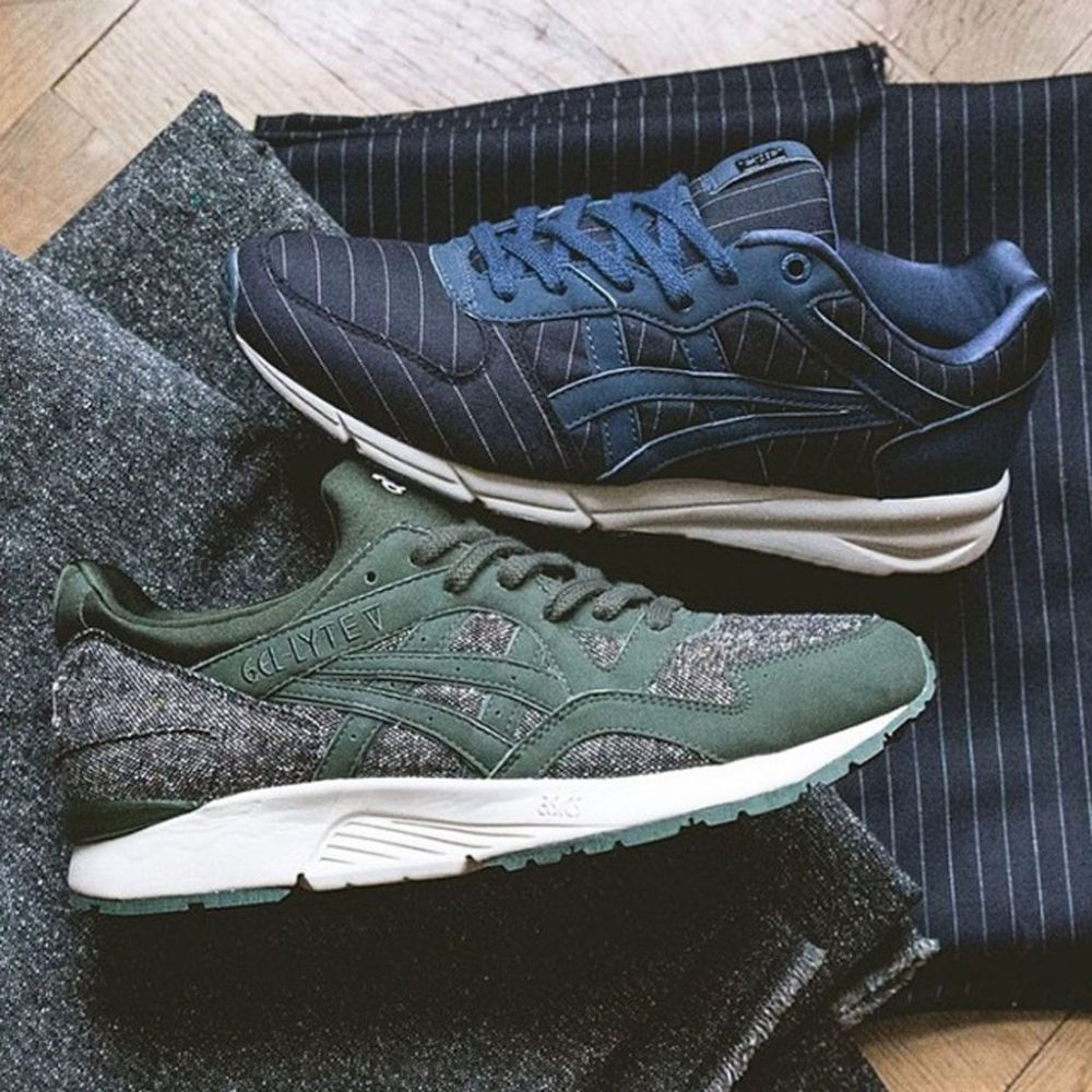Sneakersnstuff's New Asics Are 'Tailor Made'