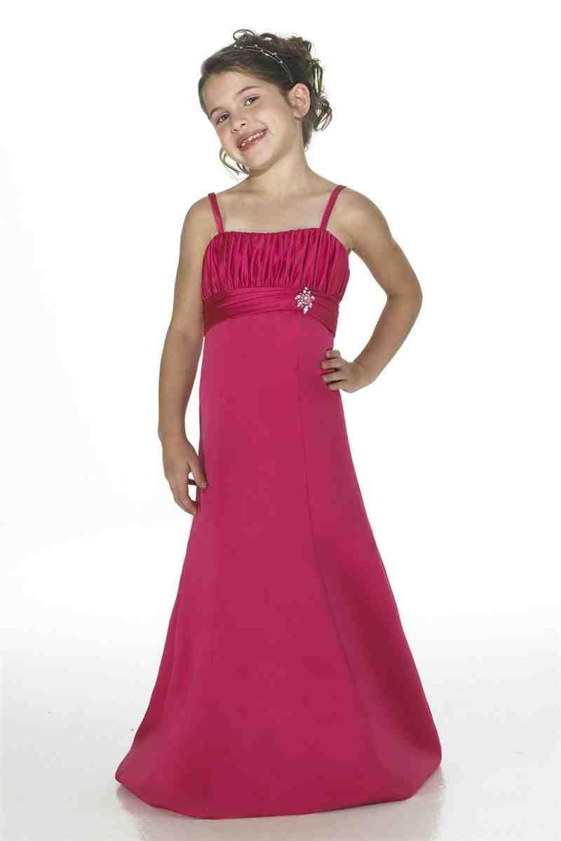 Hot Pink And Black Flower Girl Dresses Pink Flower Girl Dresses