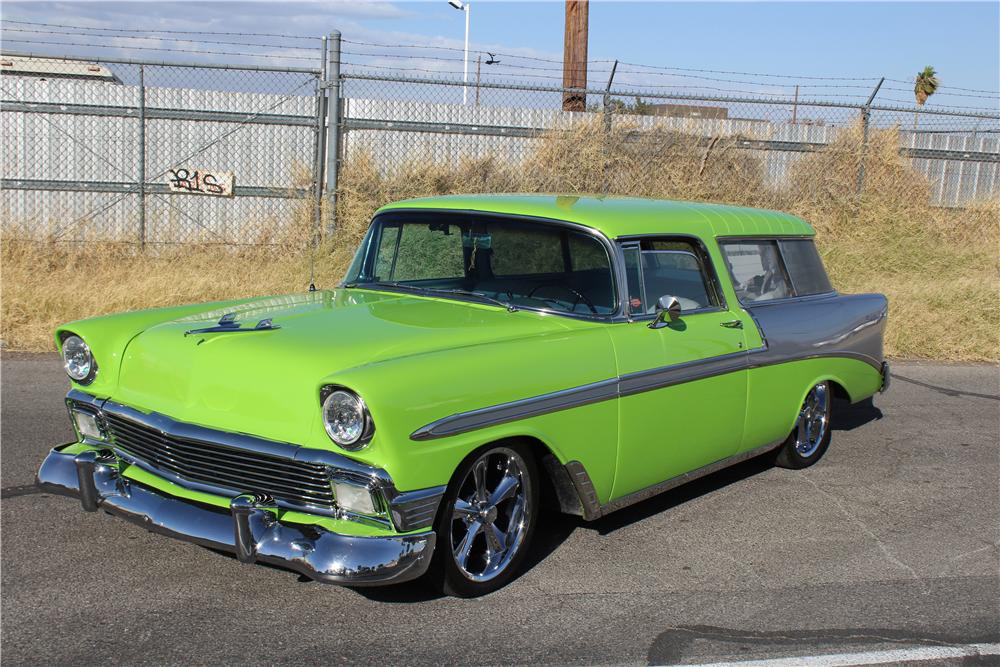 1956 Chevrolet Nomad Custom Wagon Built By Gas Monkey Garage For Dale Earnhardt Jr Chevrolet Wagon Nomad