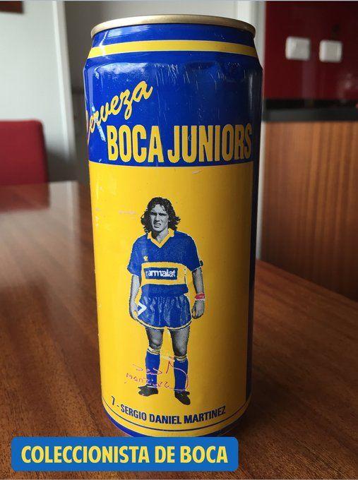 Cerveza Boca Juniors 1992-1993. N7. Manteca Martinez.