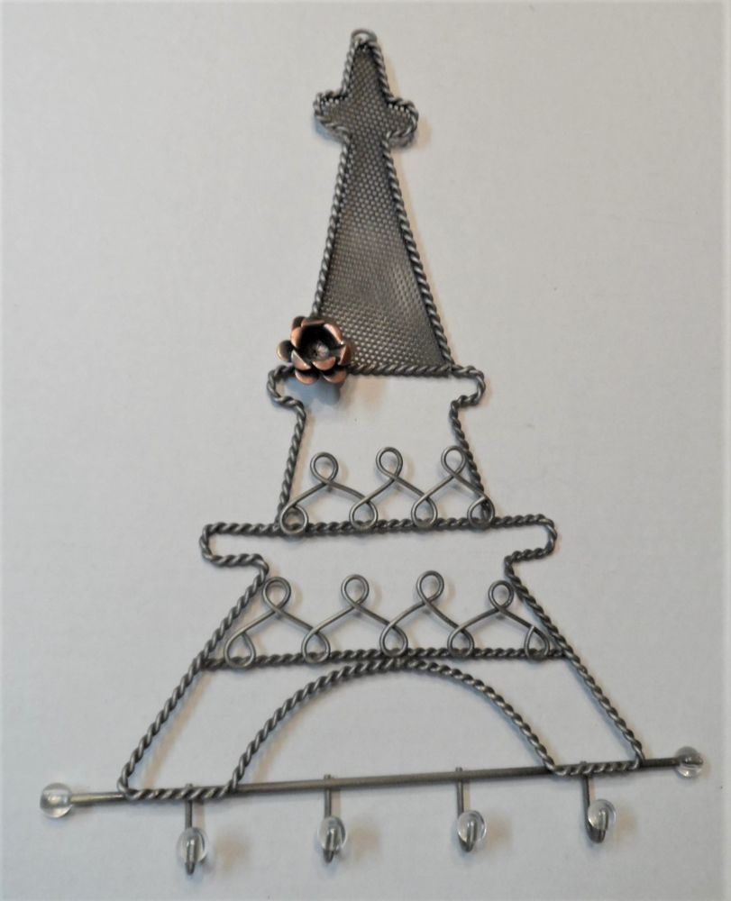 Jewelry Holder Metal Hanging Eiffel Tower Earrings ...