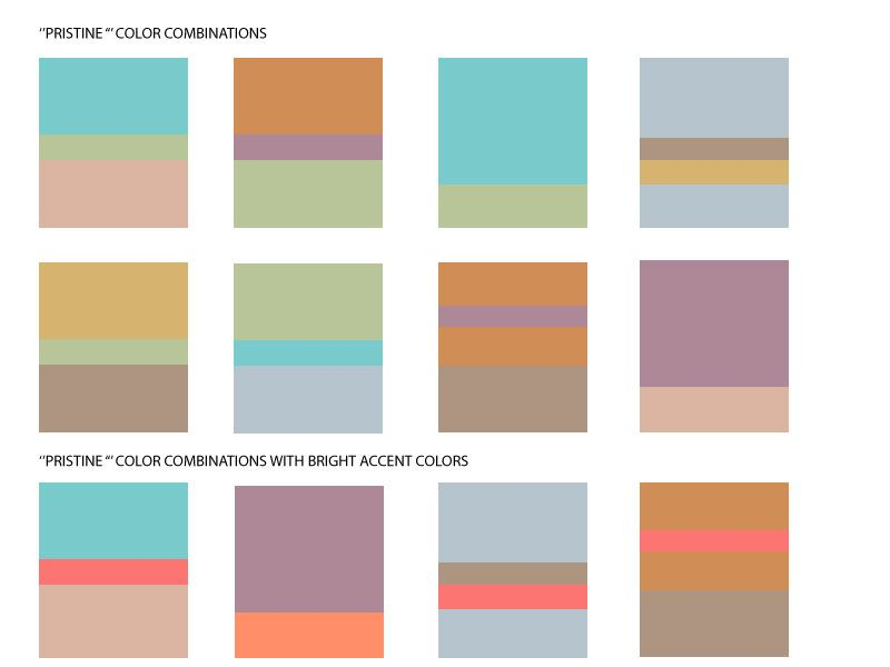 Pristine Color Combinations Pastels Color Combinations Muted