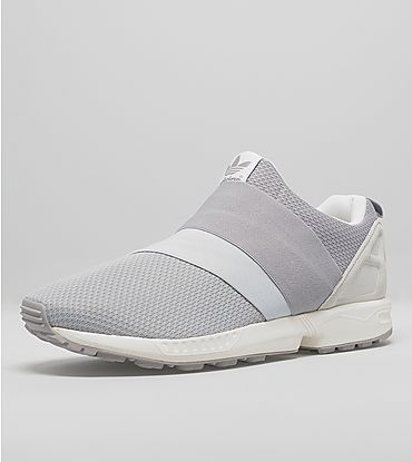 reputable site 8924b c9669 Men s Adidas Originals ZX Flux Slip-On Shoes Wolf Grey Running White Online  Lastest