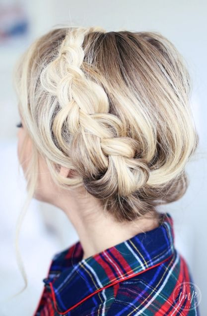 3 Christmas Morning Hairstyles Twist Me Pretty Hair Pinterest