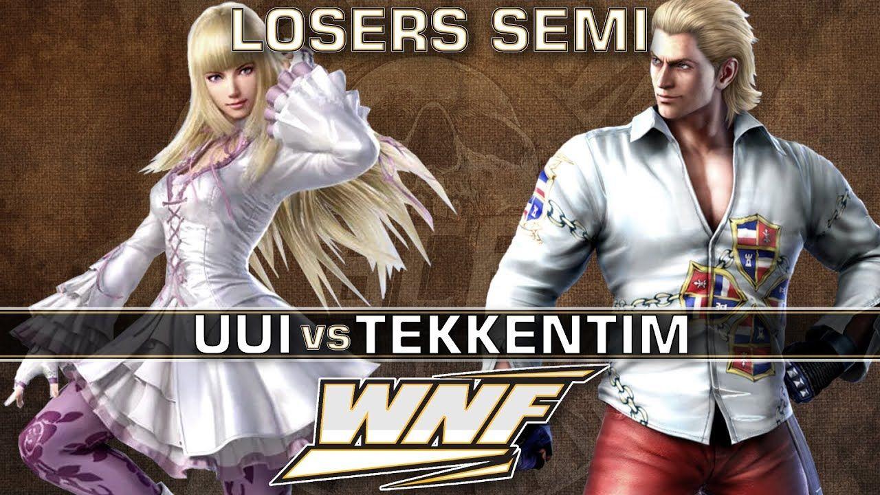 LOSERS SEMI - uui (Lili) vs. TekkenTim (Steve) - WNF 3.1 - Tekken 7 https://www.youtube.com/watch?v=TrYF0sD3YPQ&t=142s