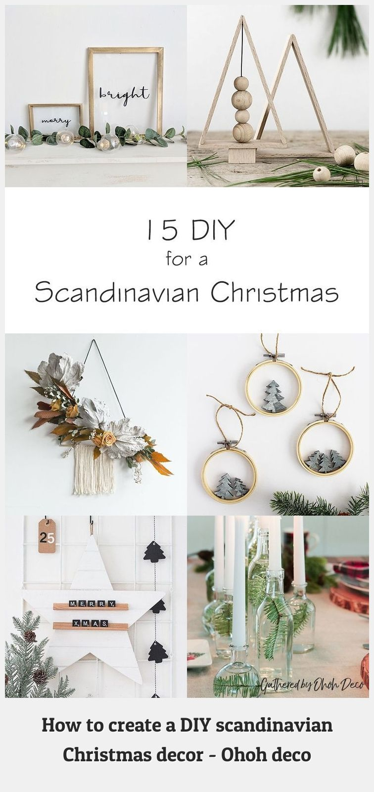 Diy Christmas Decorations 28062 15 Diy To Create A Scandinavian Christmas Decor In 2020 Scandinavian Christmas Decorations Christmas Decor Diy Christmas Decorations