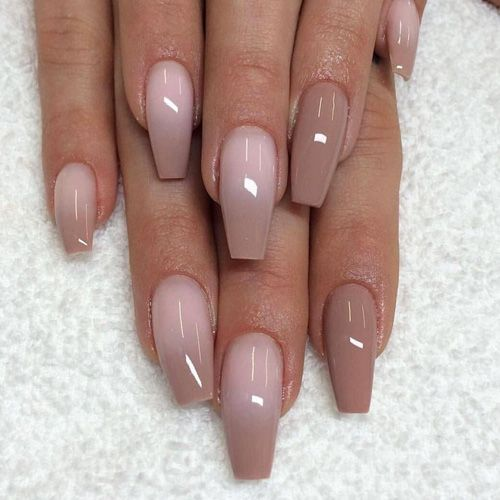 Best Summer Nails 2020 43 Of The Best Summer Nails Blush Nails Sns Nails Designs Coffin Nails Designs