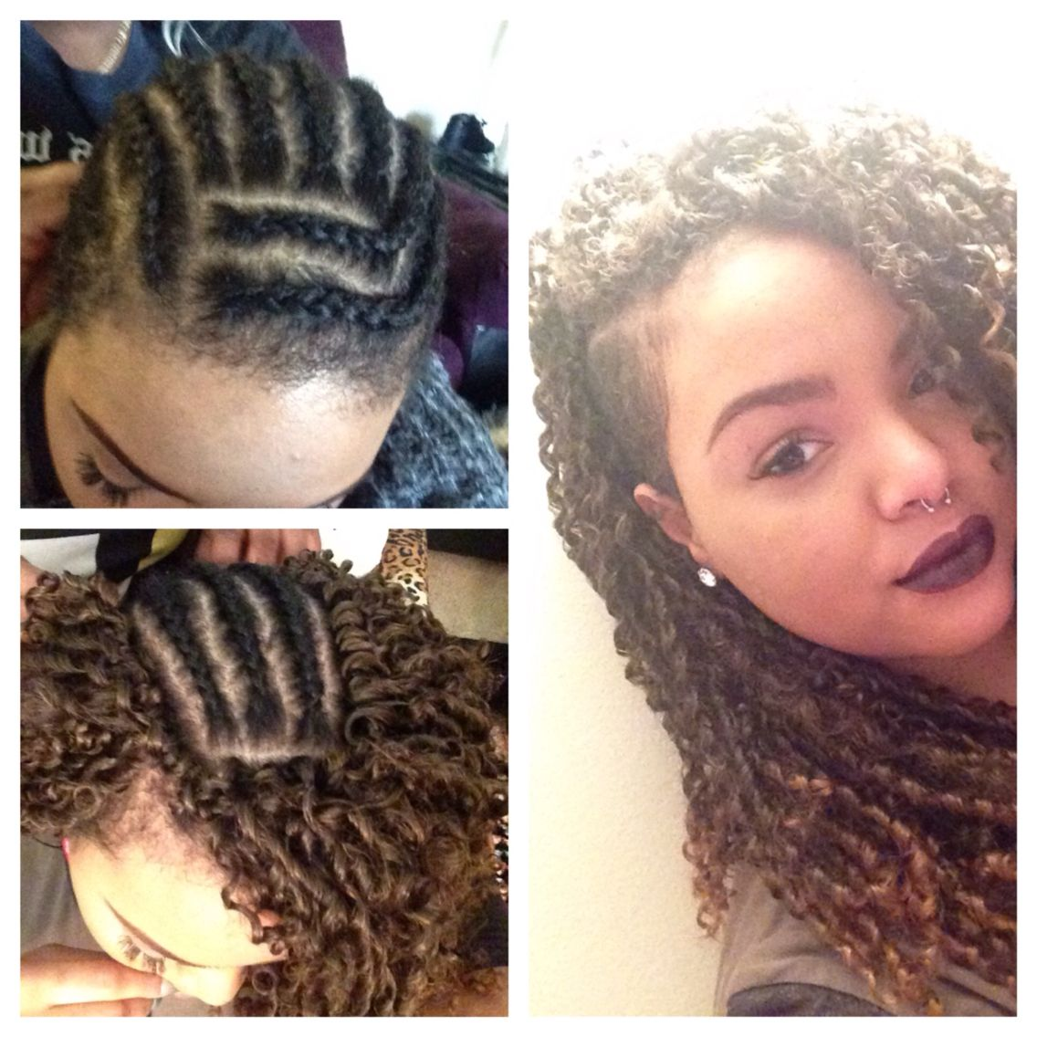 Trying Crochet Braids For The First Time I Love It Im Using