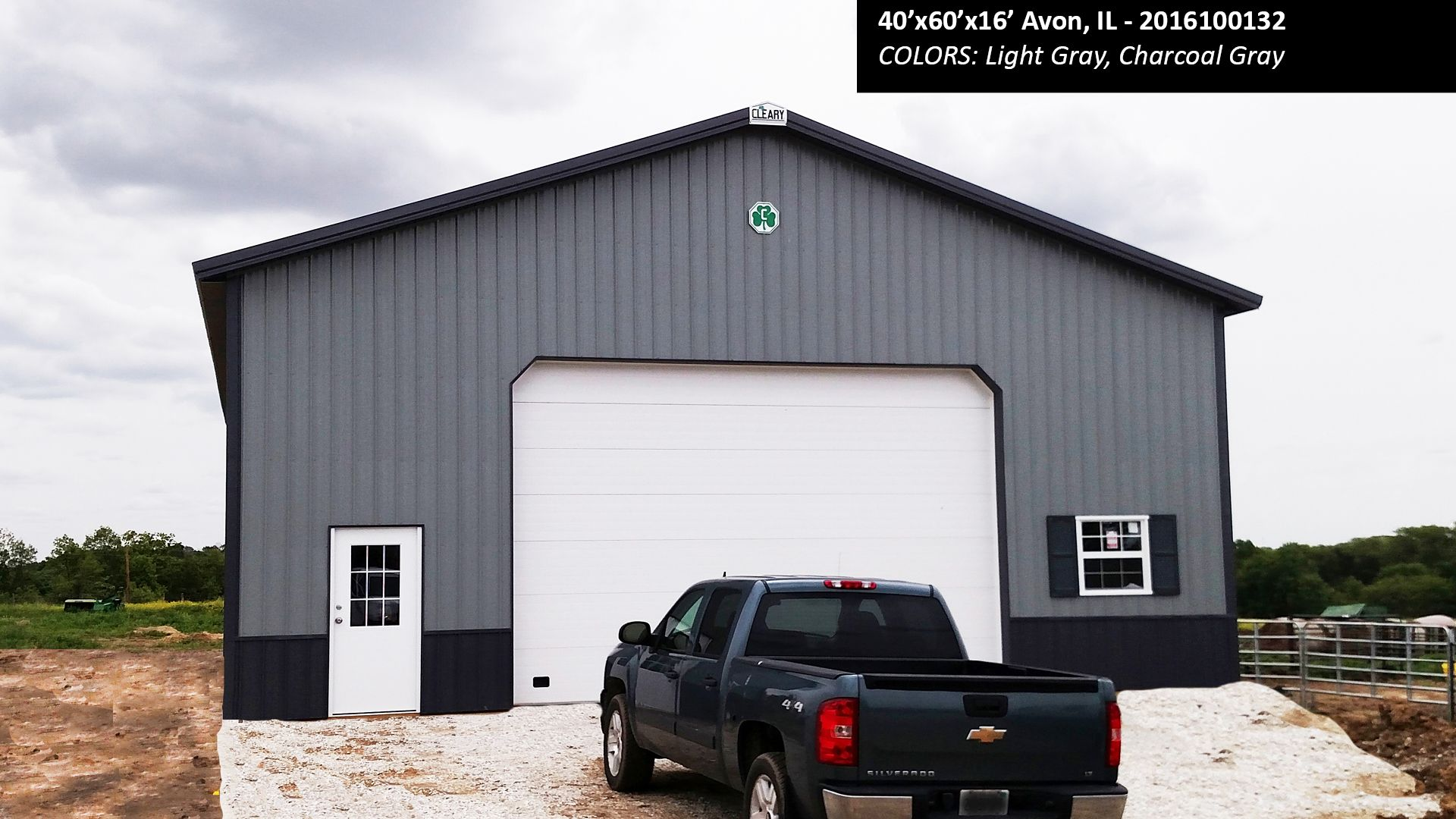 40 X60 X16 Cleary Suburban Energy Miser Building In Avon Il