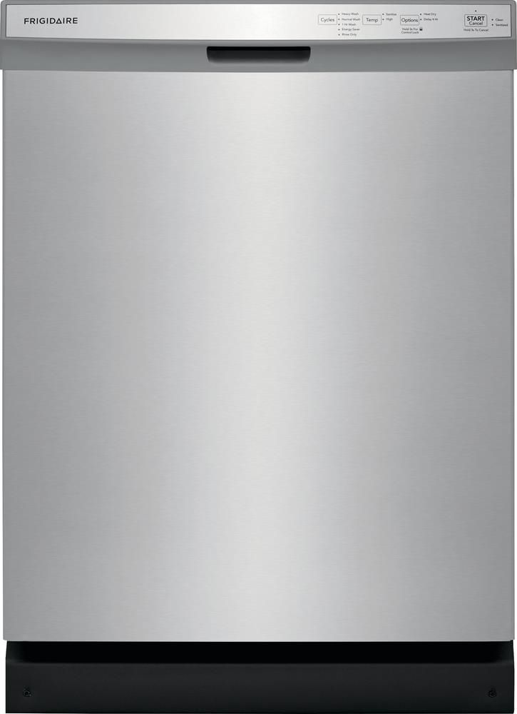 Frigidaire 24in 55decibel builtin dishwasher with front