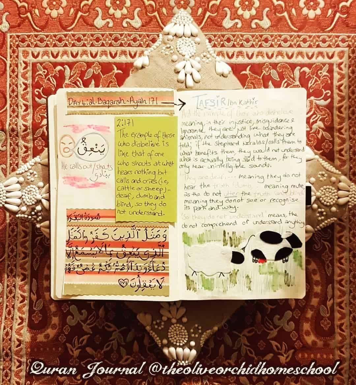Pin On Quran Journal Spread