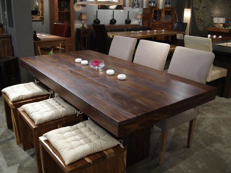 Anand Dining Table In Rosewoodhttp Www Artemano Ca Avec Images Idee Deco Cuisine Meuble Table A Diner