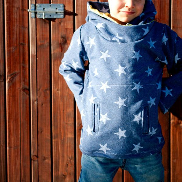 Freebook Hoodie Schnittmuster Kind * The Crafting Café