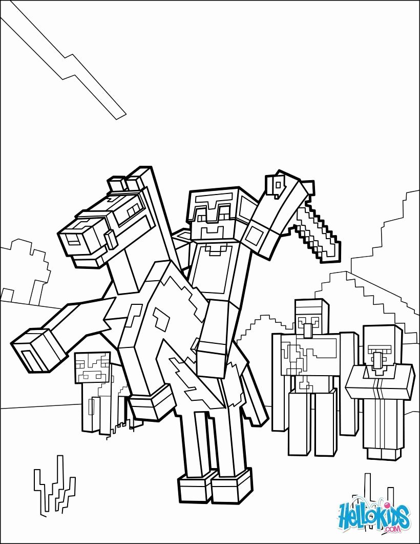 Number 70 Coloring Page New Gopher Coloring Pages Lovely Minecraft