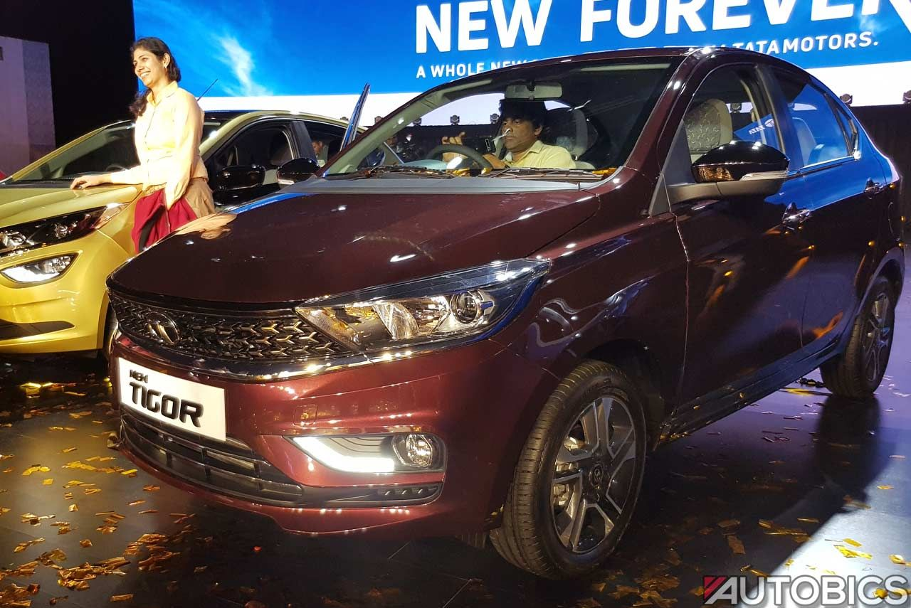 2020 Tata Tigor Launched in India; Priced from INR 5.75