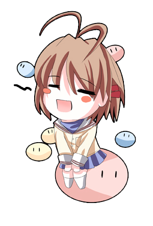Image For Clannad Chibi 7 Anime Clip Art