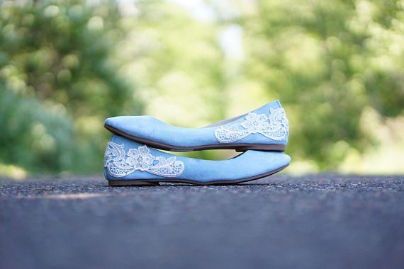 Light Blue Ballet Flats,Wedding Flats