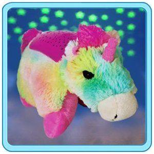 Pillow Pets Plush Dream Lites Nightlite Rainbow Unicorn I Saw This At Walgreens For Cheaper A Unicorn Head Animal Pillows Rainbow Unicorn Unicorn Pillow Pet